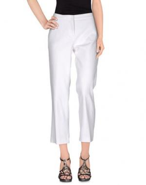 Джинсовые брюки KILTIE. Цвет: белый