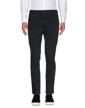 Повседневные брюки DAVID NAMAN. Цвет: грифельно-синий