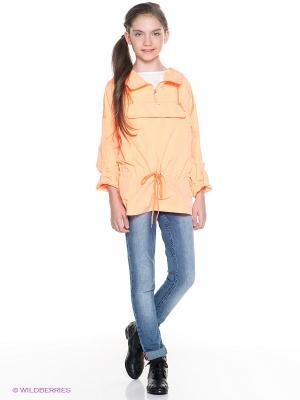 Куртка Orby. Цвет: персиковый