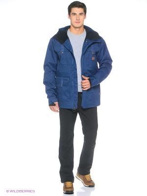 Куртка DC Shoes. Цвет: голубой
