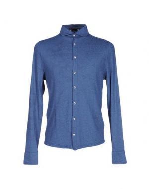 Pубашка ALPHA STUDIO. Цвет: синий