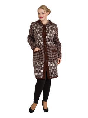 Легкое пальто, модель Марлен Dorothy's Нome. Цвет: коричневый