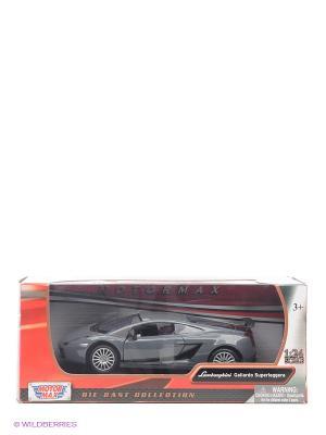 Машинка коллекционная  Laмborghini Gallardo Superleggera в масштабе 1к24 Motormax. Цвет: серый