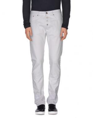 Джинсовые брюки (M) MAMUUT DENIM. Цвет: белый