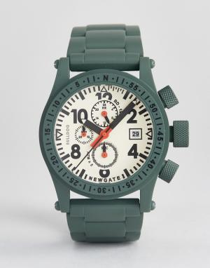Newgate Часы Bulldog. Цвет: зеленый