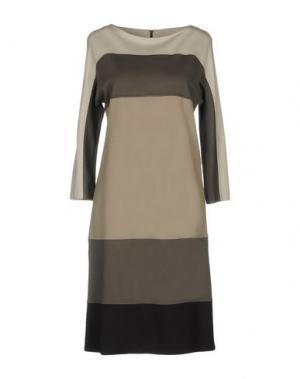 Короткое платье GOSSIP. Цвет: серый