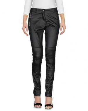 Джинсовые брюки KONTATTO. Цвет: черный