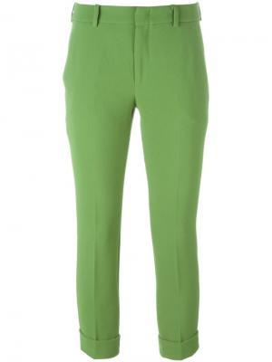 Укороченные брюки LAutre Chose L'Autre. Цвет: зелёный