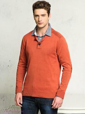 Пуловер FQ1924. Цвет: терракотовый