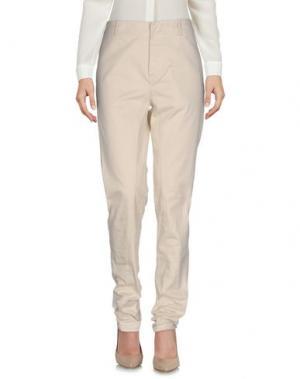 Повседневные брюки LAURENCE DOLIGÉ. Цвет: бежевый