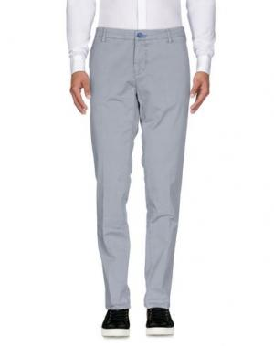 Повседневные брюки DIMATTIA. Цвет: серый