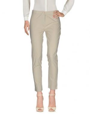 Повседневные брюки BLUKEY. Цвет: светло-серый