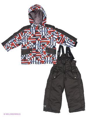 Комплект одежды Hippo Hoppo. Цвет: красный, черный
