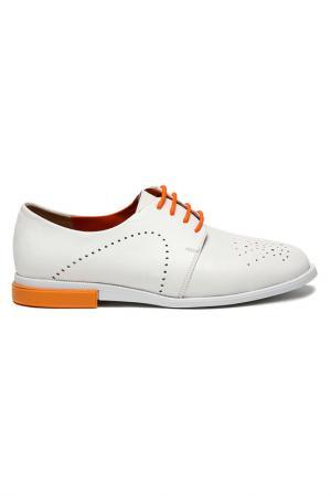Туфли DERI&MOD. Цвет: белый