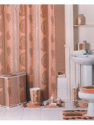 Штора для ванной (Caterpillar) 180*180 Bath Plus. Цвет: черный, хаки