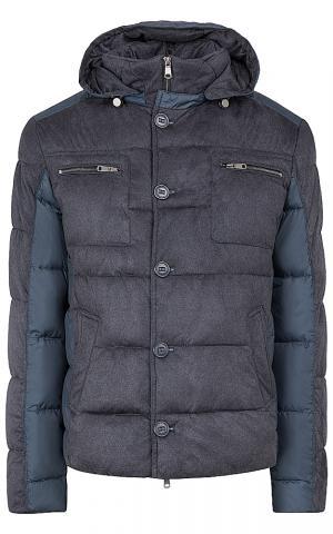 Фактурная утепленная куртка Al Franco
