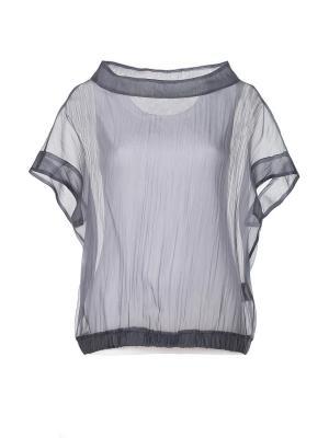 Блузка Peserico. Цвет: серый