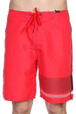 Шорты пляжные  Shifter 21 Red Rip Curl. Цвет: красный