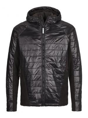 Куртка CLASSIC BEE MENS HYBRID JKT HUMMEL. Цвет: черный