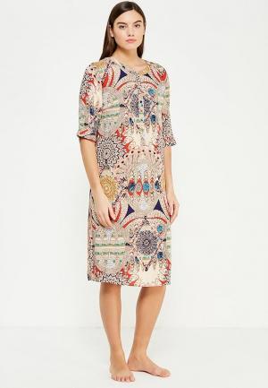 Платье домашнее Mia-Mia. Цвет: разноцветный