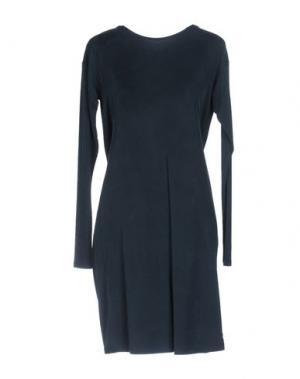 Короткое платье EMMA&GAIA. Цвет: темно-зеленый