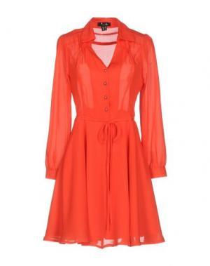 Короткое платье CUTIE. Цвет: коралловый
