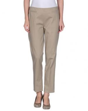 Повседневные брюки KILTIE. Цвет: бежевый