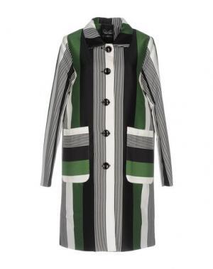 Легкое пальто ANONYME DESIGNERS. Цвет: зеленый