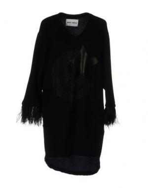 Короткое платье BRAND UNIQUE. Цвет: черный