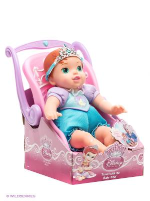 Кукла Малышка Принцесса Disney - путешественница Ариэль Jakks. Цвет: голубой, бежевый, розовый