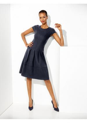 Моделирующее платье Class International. Цвет: желтый, королевский синий, черный, ярко-розовый