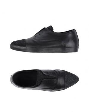 Низкие кеды и кроссовки PAUSE. Цвет: черный