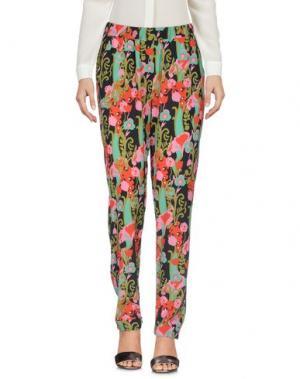 Повседневные брюки MARIUCCIA. Цвет: зеленый