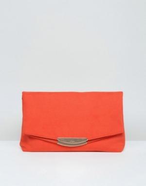 Faith Клатч. Цвет: оранжевый
