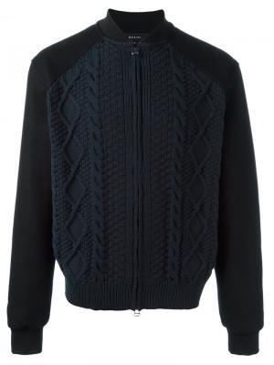 Куртка-бомбер Astell Qasimi. Цвет: чёрный