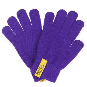 Перчатки  Touchgloves Purple TrueSpin. Цвет: синий