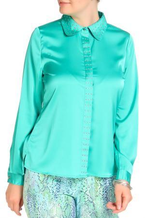 Блуза SARAH KERN. Цвет: изумруд
