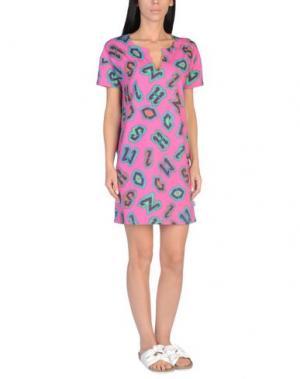 Пляжное платье MOSCHINO. Цвет: фуксия