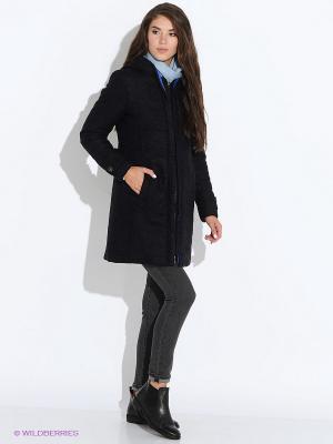Пальто GEOX. Цвет: темно-синий