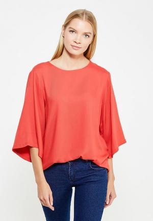 Блуза Coquelicot. Цвет: красный