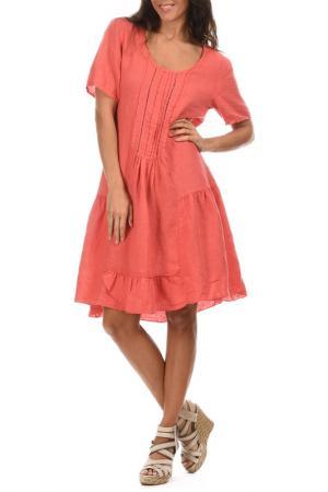 Платье LIN POUR LAUTRE L'AUTRE. Цвет: красный