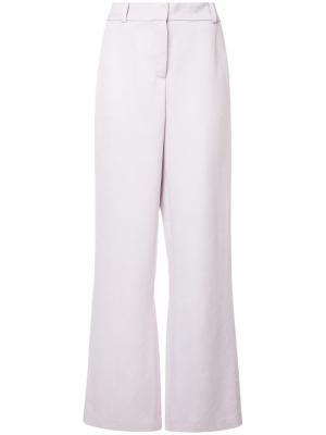 Прямые брюки Tatum Sies Marjan. Цвет: розовый и фиолетовый