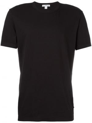 Базовая футболка James Perse. Цвет: чёрный