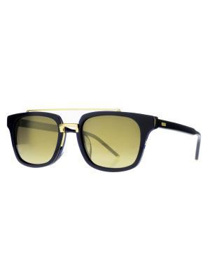 Солнцезащитные очки Dakota Smith. Цвет: темно-синий