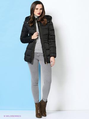 Пальто Trussardi. Цвет: черный
