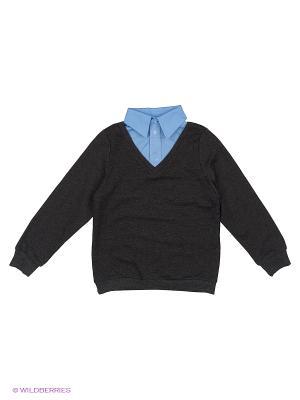 Обманка Пуловер 80 LVL. Цвет: серый