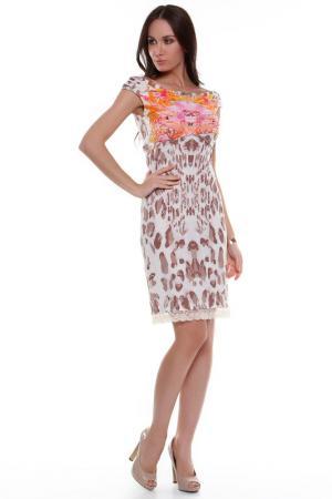 Платье Fuego. Цвет: мультицвет