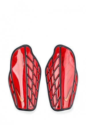 Щитки Nike. Цвет: красный