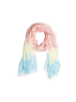 Шарф Kameo-bis. Цвет: розовый, голубой, желтый