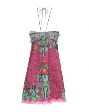 Короткое платье CUSTO BARCELONA. Цвет: розовый